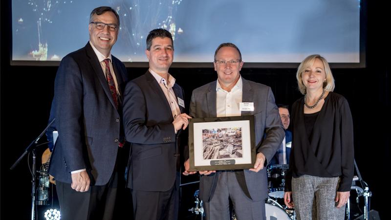 Groupe ABS honoré par Info-Excavation